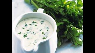 Рецепты соусов: Английский соус из петрушки (рецепт)