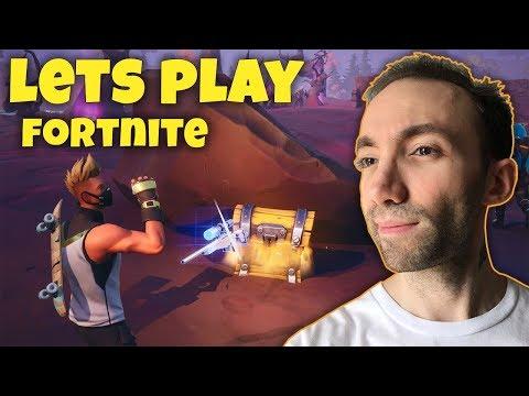 Lets Play Fortnite - یک دست پر از هیجان که دو نفره رفتیم