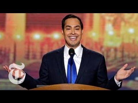 Election 2012 | Julián Castros DNC Keynote Speech | The New York Times