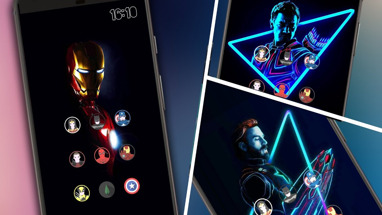 Get the Avengers Infinity Theme Pack on any Android Phone [Nova