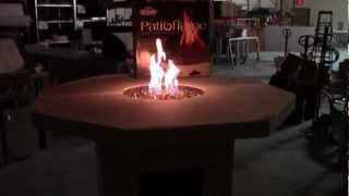 Octagon Fire Pit Table