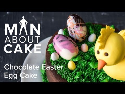 (man about) Chocolate Easter Egg Cake | Man About Cake with Joshua John Russell