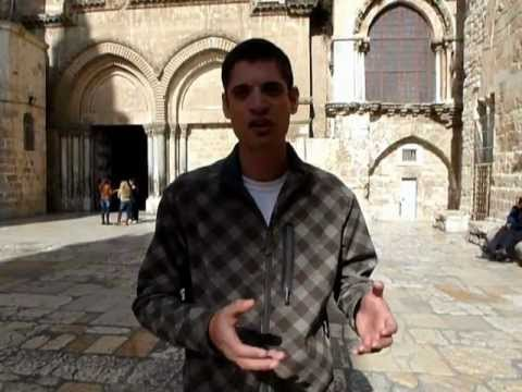 Church of the Holy Sepulchre - Old City of Jerusalem ,Israel Tour