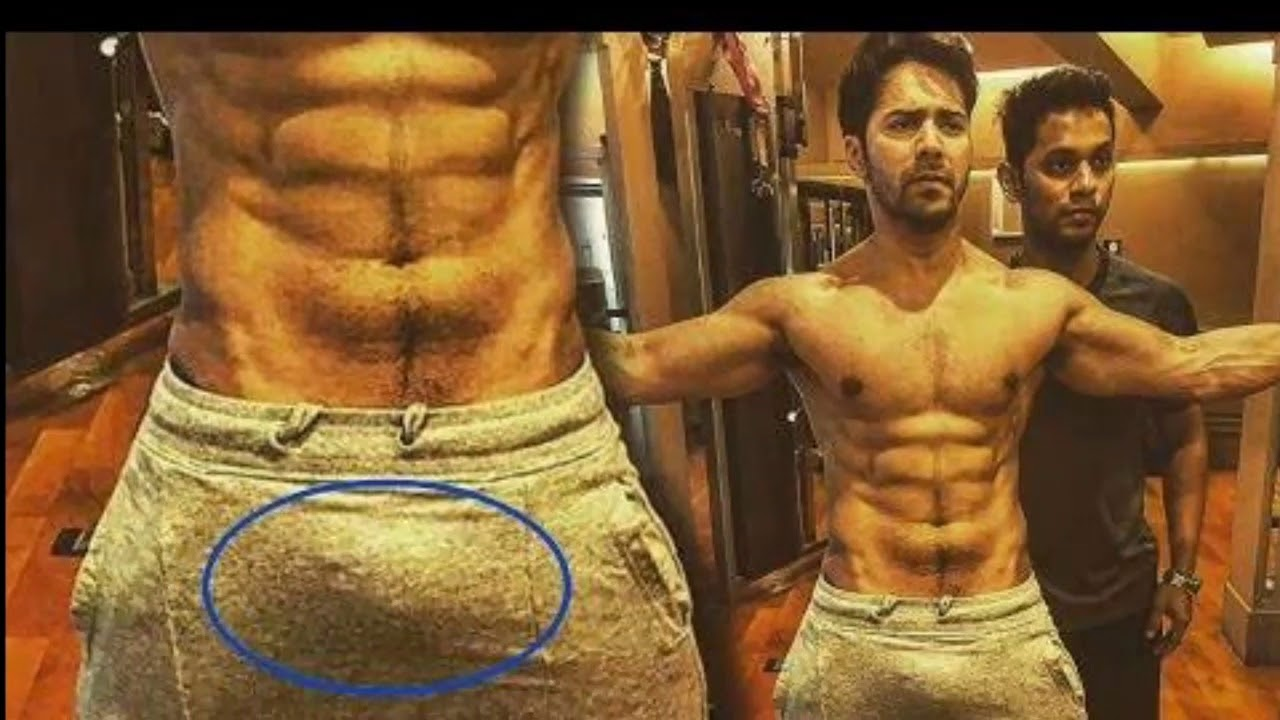 Varun Dhawan Hardwork Out Gym For Six Pack Abs Hd Youtube