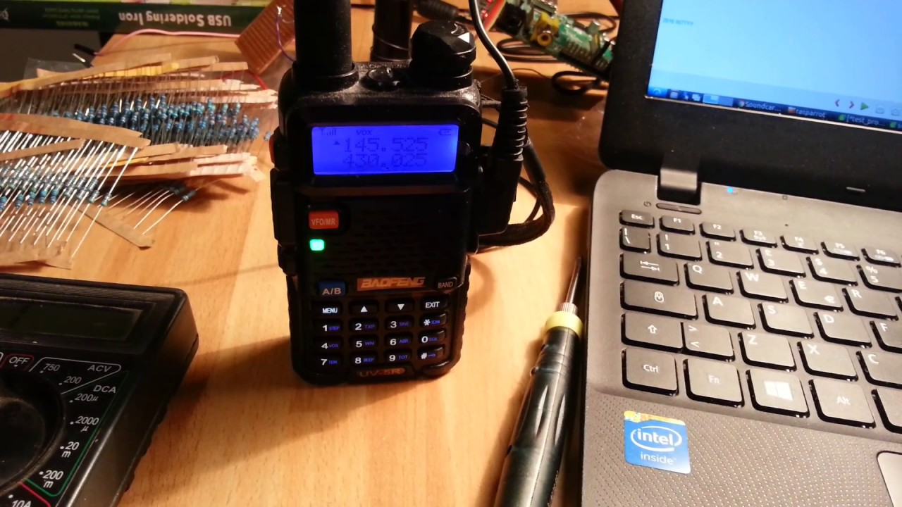 Raspberry Pi HAM RADIO Simplex Repeater