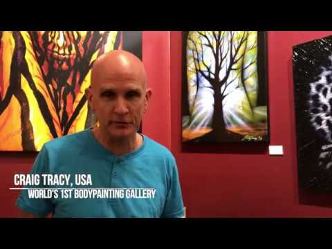 The Home of Bodypainting, thoughts of Craig Tracy