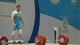 Уланов Денис (Казахстан) - рывок 180.