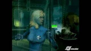 Fantastic 4 PlayStation 2 Gameplay - Invisible Woman music
