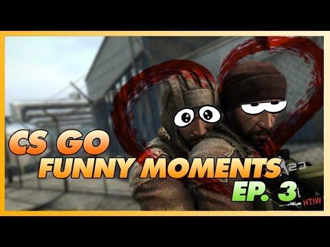 CS GO - Funny Moments EP 3 (Stupid Fails, Backflips)