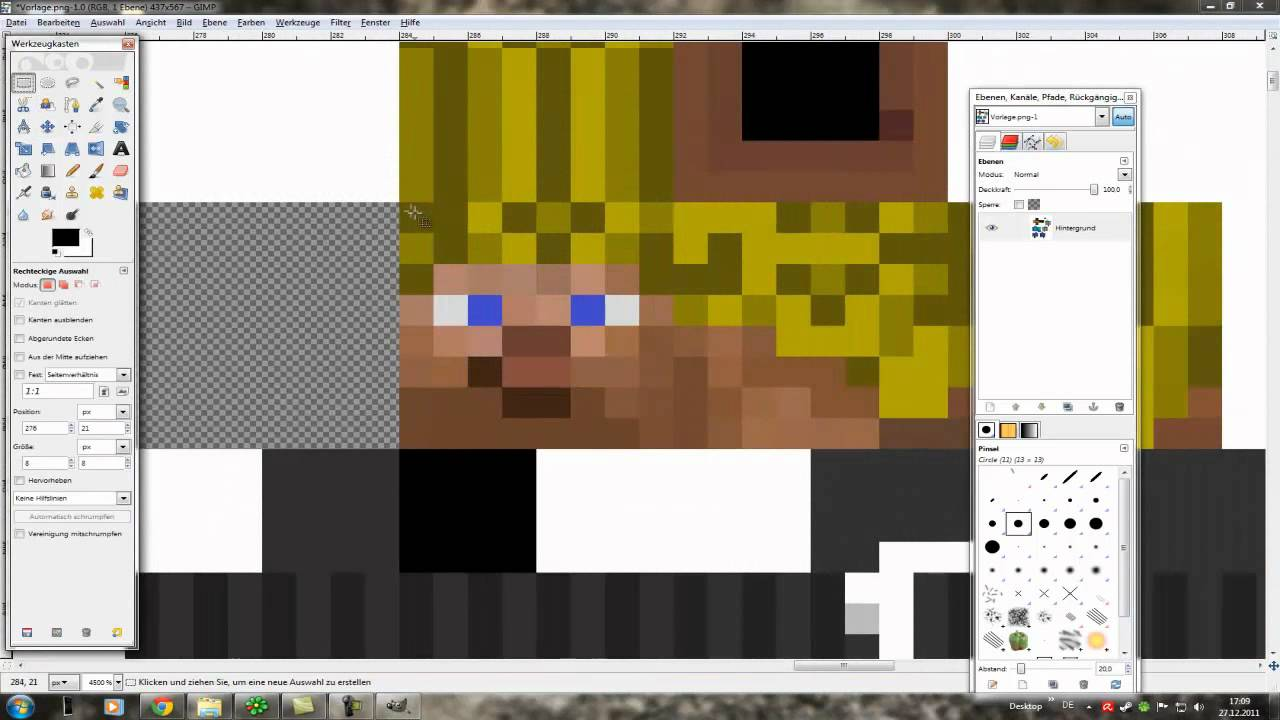 Minecraft Papier Figur von Dir! Tutorial [Papercraft Tutorial 1/2 ...