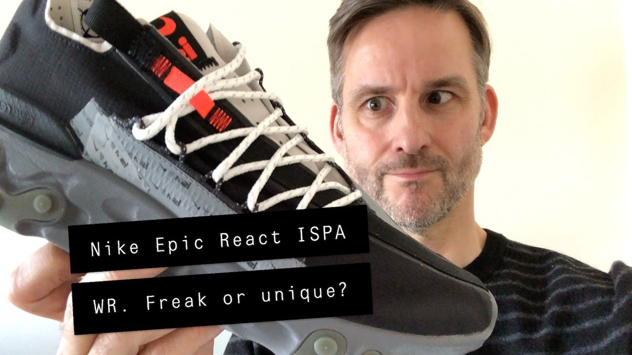 Nike React ISPA WR Low Review and On