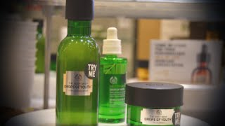 THE BODY SHOP LEICESTER - DROPS OF YOUTH BLOGGER EVENT