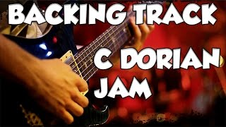 Funky Bluesy Jazz Funk Dorian Groove Guitar backing Track Jam in Cm