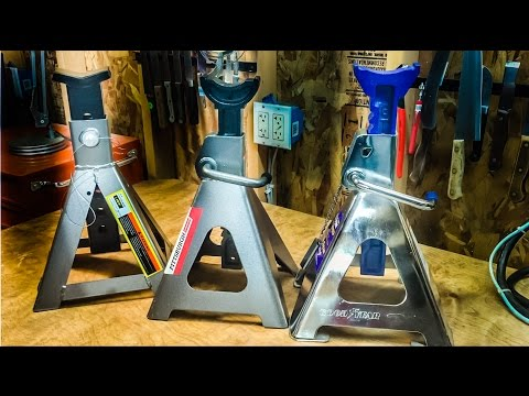 Jack Stand Review - Harber Freight vs. LARIN