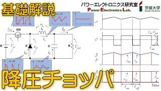 【パワエレ】降圧チョッパの基礎 Power Electronics: Fundamentals of Buck Converter