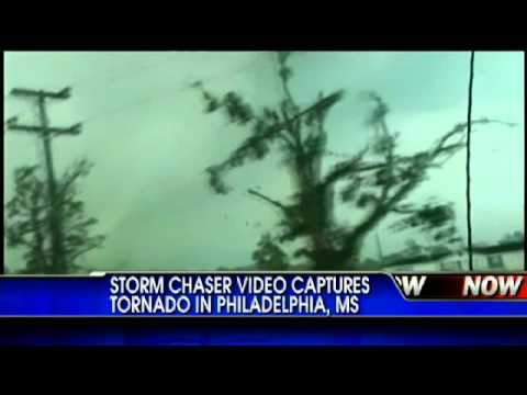 Storm Chaser Video Captures Tornado in Mississippi