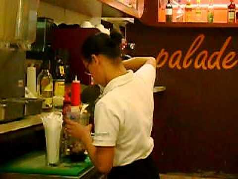Preparación 4 Barman Nicaragua