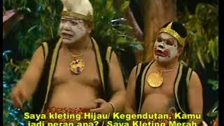 Wayang Orang (Wayang Wong) lucu bikin abis lakon taliroso rosotali 2
