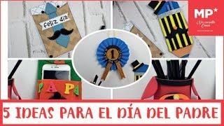 ¡5 MANUALIDADES SUPER FÁCILES PARA EL DÍA DEL PADRE!