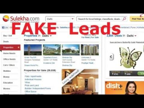 Sulekha com fake leads commitment-beware before purchase record all  commitments