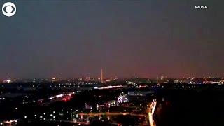 WEB EXTRA: Lightning Over Washington Monument