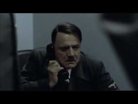 Hitler is phoned by Gunther