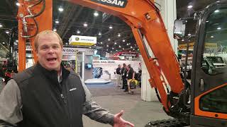 Video still for Doosan at World of Concrete 2020