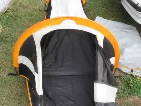 $5.00 Bug out Bag Walrus Micro Swift one man tent. & $5.00 Bug out Bag Walrus Micro Swift one man tent. - YouTube
