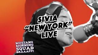 SIVIA - NEW YORK (LIVE @ MUSTANG 88 FM)