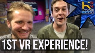 Dan & Pete Try VR! (Arena Ultimate VR Experience)