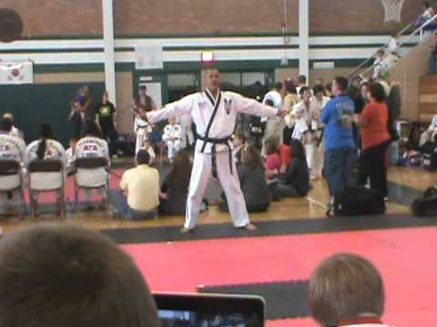 Stan Shields - ATA Family Martial Arts - Weapons Forms Competition