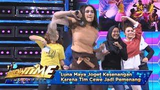 Luna Maya Joget Kesenangan Karena Tim Cewe Jadi Pemenang - It's Show Time (10/4)