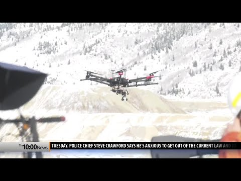 Drones, remote-controlled boat used to scare birds out of Berkeley Pit