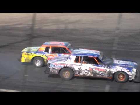 Hobby Stock Amain @ Hancock County Speedway 08/14/16