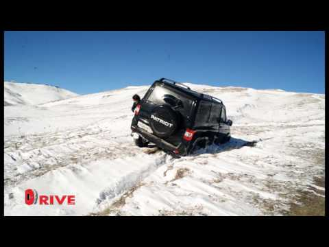 UAZ TEST DRVE ARMENIA  DRIVE NEWS