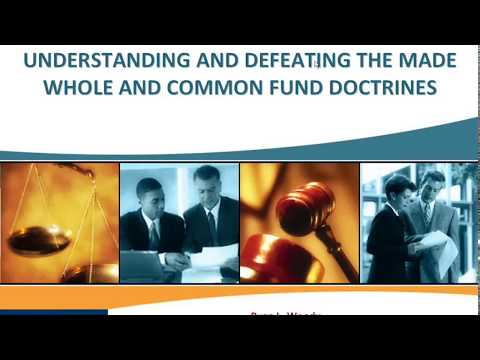 Avoiding The Made Whole And Common Fund Doctrines