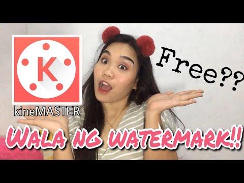 HOW TO REMOVE WATERMARK IN KINEMASTER (Tagalog)   Teacher Ynaa
