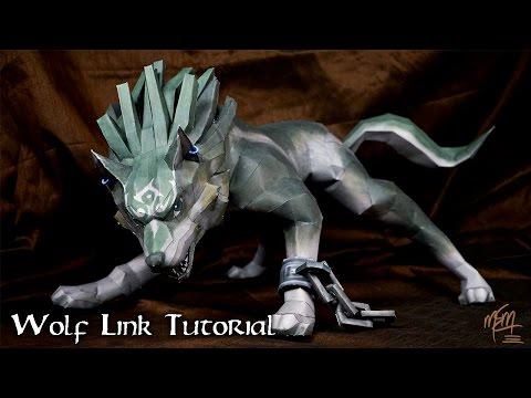 Wolf Link Papercraft Tutorial