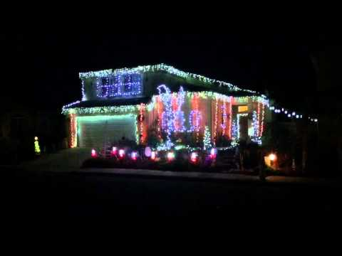 Grand Illumination 2014 Cardona Christmas Santa Maria, CA