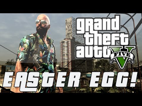 Grand Theft Auto 5 Max Payne 3 Easter Egg Hawaiian Attire