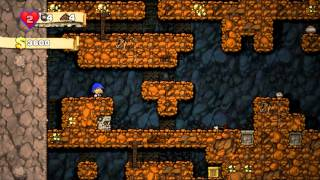 ASMR Let's Play Spelunky! (Whisper/Gum chewing)