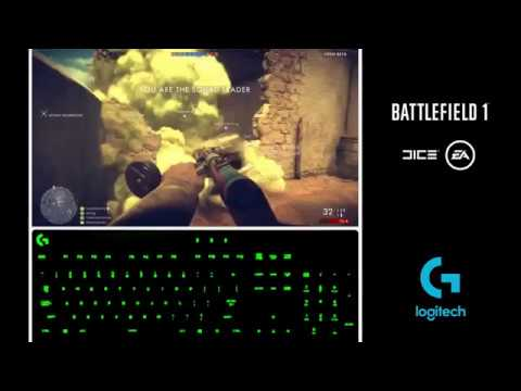 Battlefield 1 Lighting Integration with Logitech G HUB
