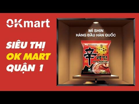 Mì Hàn Quốc tại OK Mart
