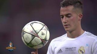 Así vivieron el penalti de Lucas en Milán sus amigos y familiares