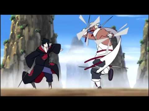 【AMV】Naruto   Sasuke vs Killer Bee   Impossible