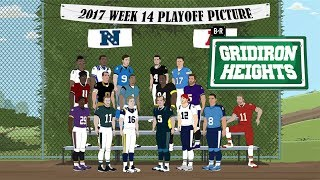 Gridiron Heights, Season 2, Episode 14: Smile for the Week 14 Playoff Picture