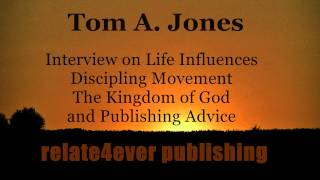 Thomas A Jones #Interview on Relate4ever 2014