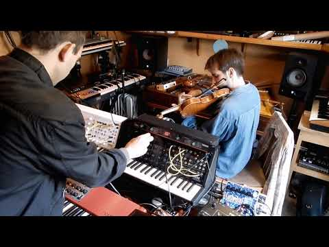 Violin, Synthesizers, Harmonics [live improvisation]