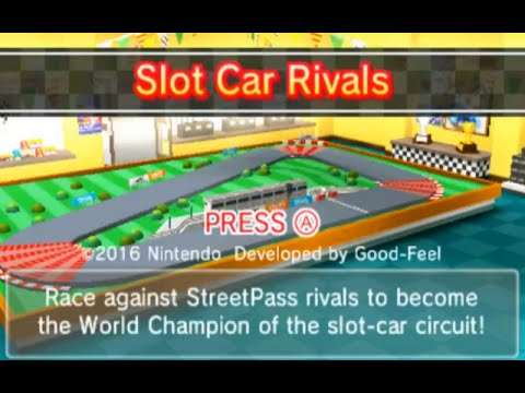 Slot Car Rivals StreetPass Princeton Episode 1 How to Play