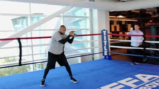 Roy Jones Jr. Shadow Boxing at UFC Performance Institute Highlights
